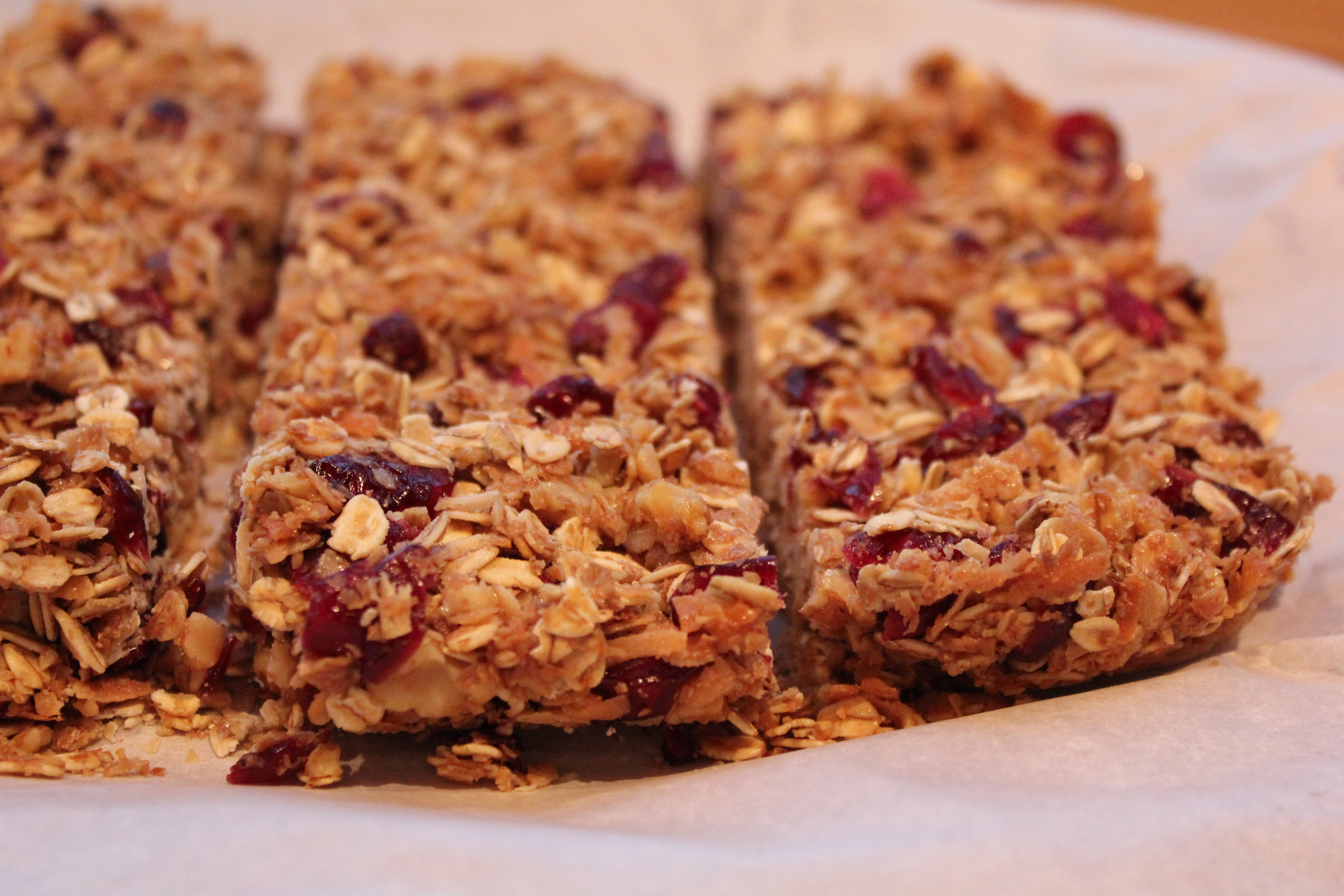 Cranberry Granola Crisp Recipe — Dishmaps