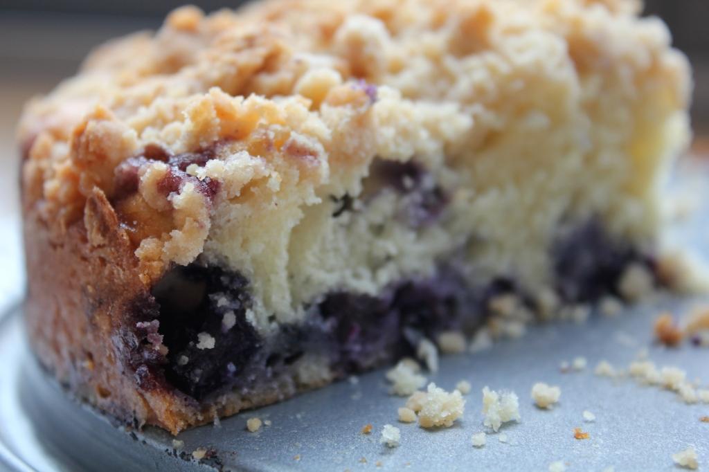 Blueberry Coffee Cake | Clara Persis