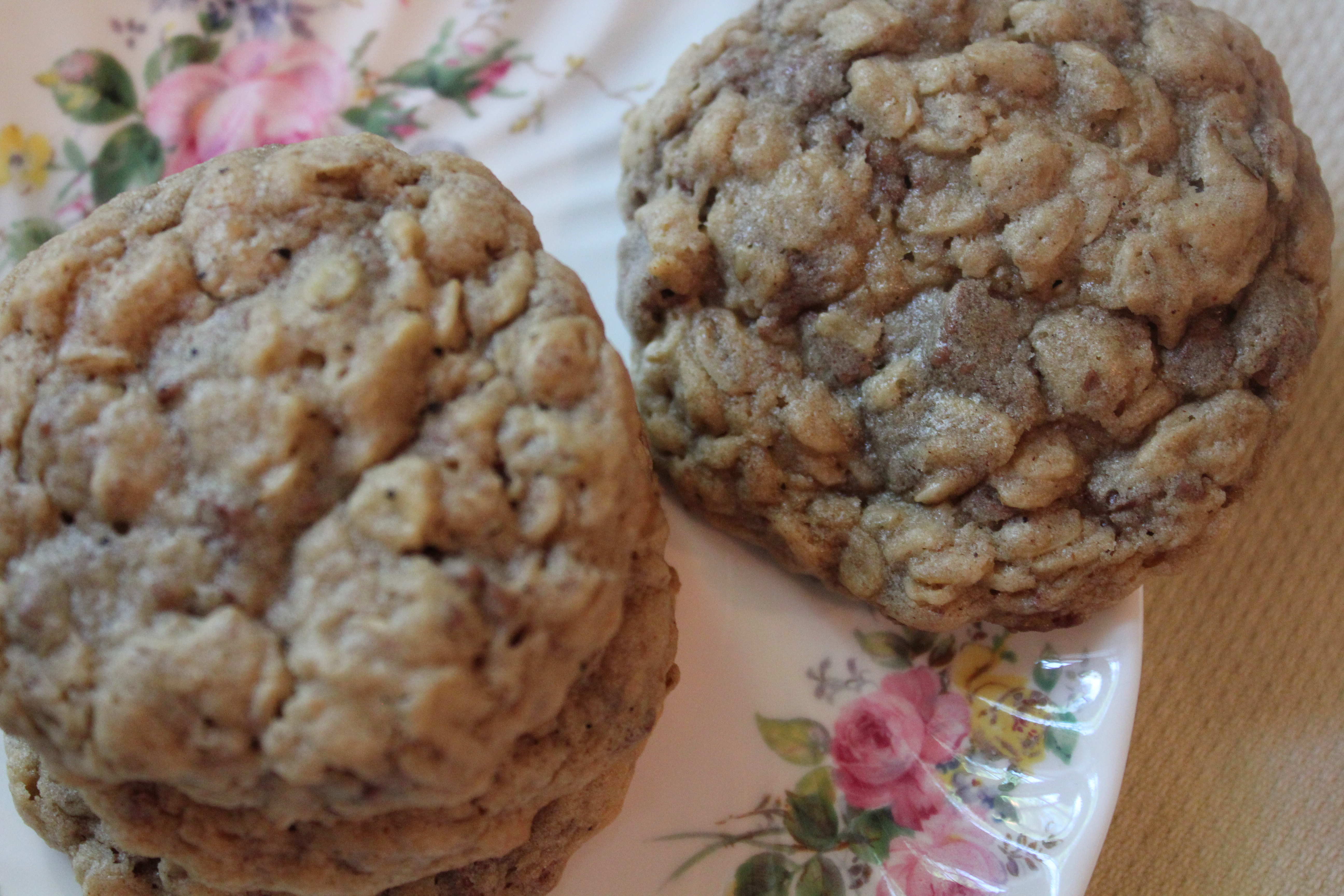 Chewy Oatmeal Chocolate Chip Cookies | Channeling Contessa