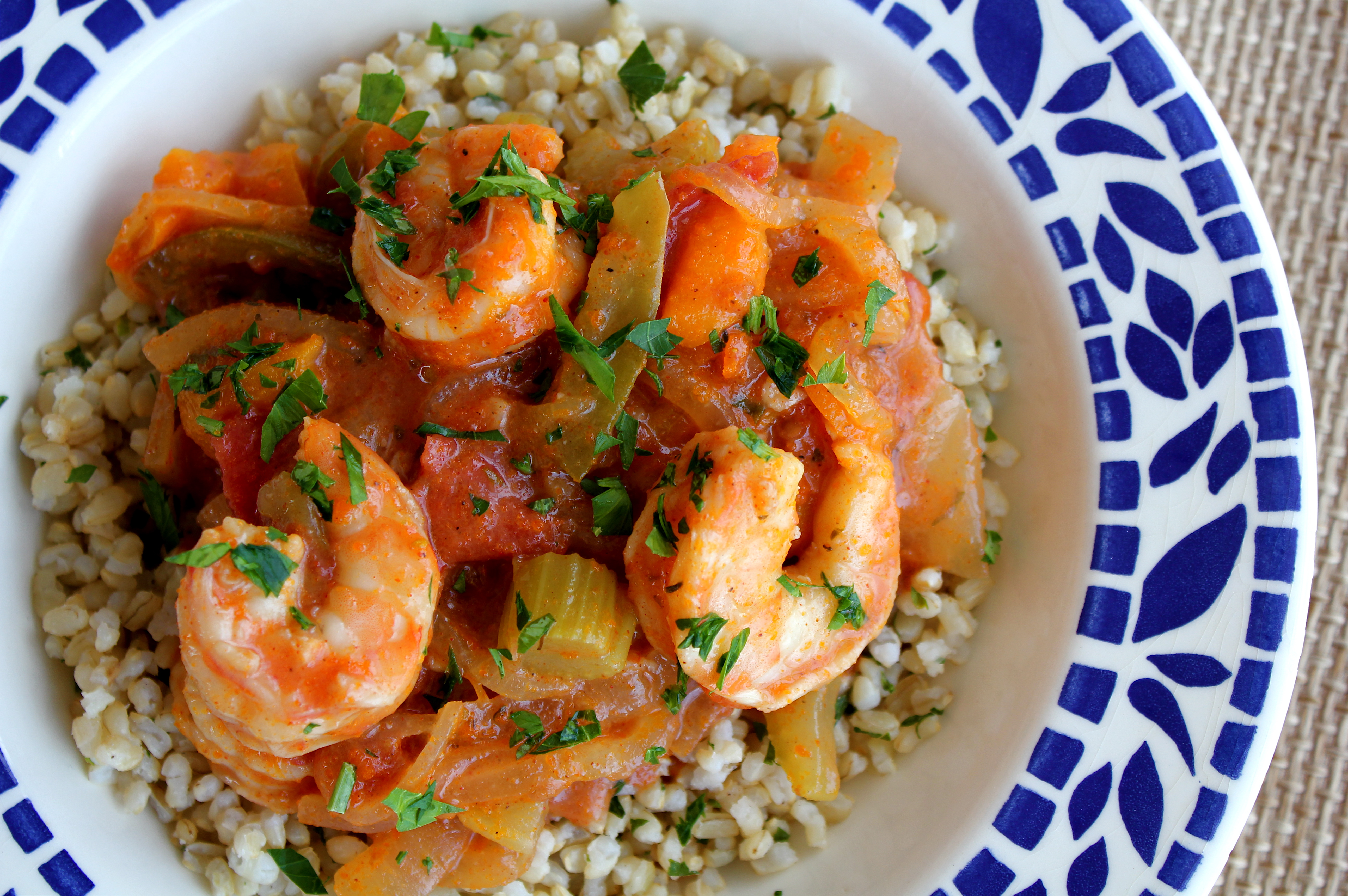 New Orleans Style Shrimp adapted from Martha Stewart