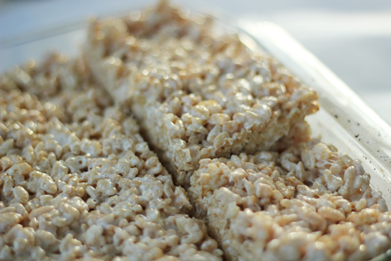 Salted Brown Butter Crispy Treats slightly adapted from Smitten ...